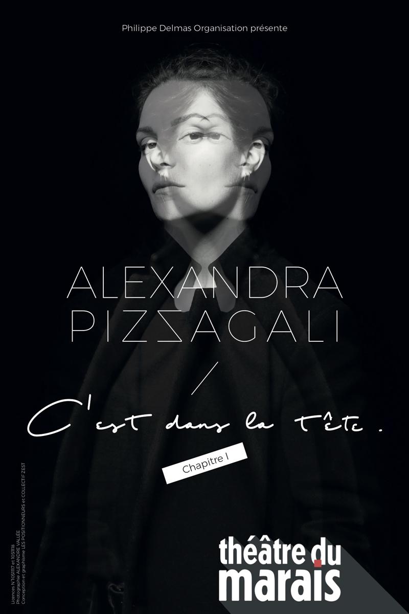 Affiche Alexandra Pizzagali