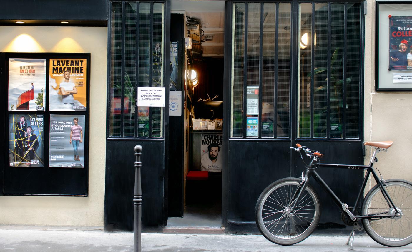 Photo extérieur Théâtre du marais Paris