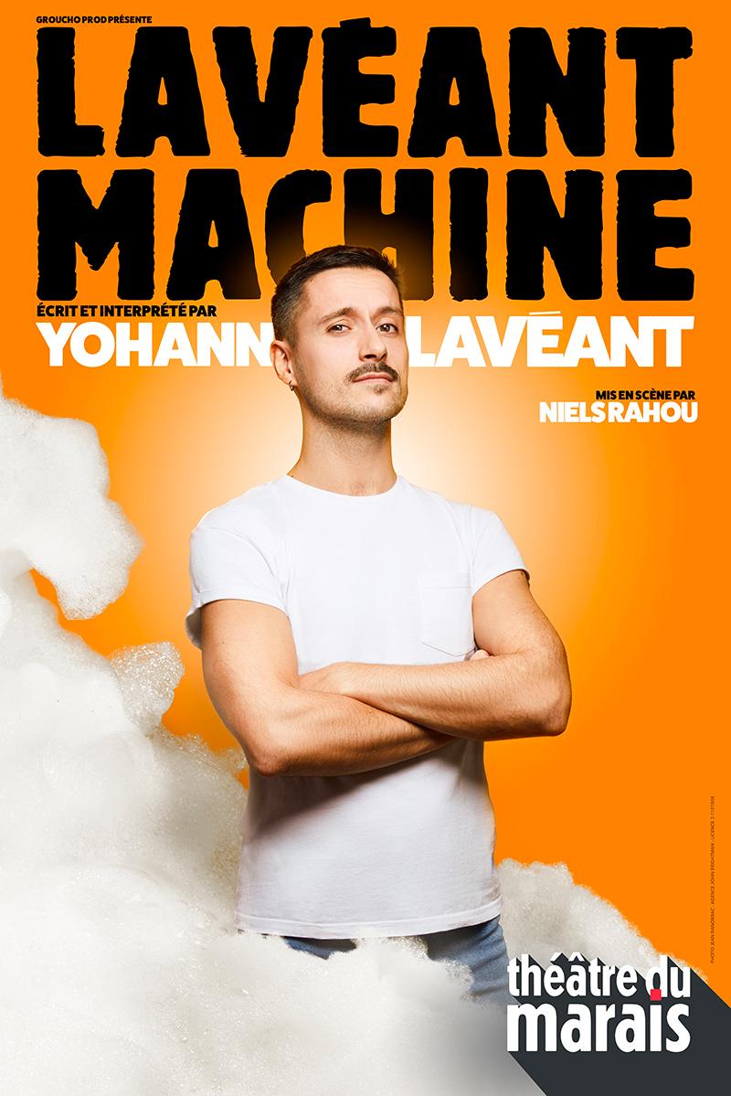 Affiche Yohann Lavéant
